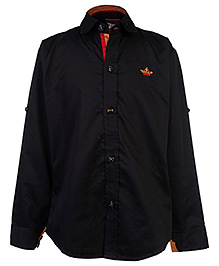 Blazo Full Sleeve Shirt - Black