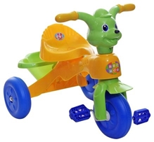 Mee Mee Tricycle with Rear Basket - Green N Yellow