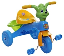 Mee Mee Tricycle with Rear Basket - Blue N Green