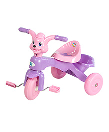 Mee Mee Tricycle with Rear Basket - Purple N Pink
