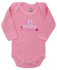 Babyhug Full Sleeves Onesies - Embroidery