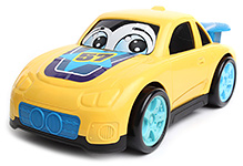 Dickie Happy Runner Car - Yellow - Car 28.5 X 16 X 12 Cm
