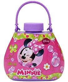 Simba Minnie Mouse Plastic Bubble Handbag Purple - 200 ml