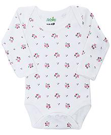 Babyhug Full Sleeves Onesies - Floral Print