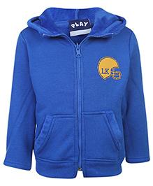 Little Kangaroos Full Sleeve Hooded Sweatshirt - Blue