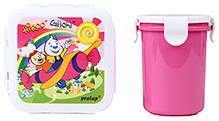 Pratap Hyper Locked Gift Set Junior - Pink