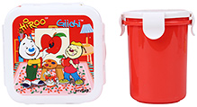 Pratap Hyper Locked Gift Set Junior - Red