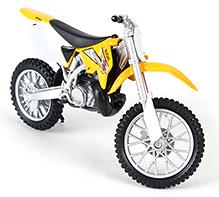 Welly Suzuki RM250 Die Cast Motor Cycle