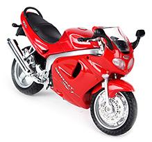 Welly Die Cast Motorcycle Triumph 2002 Sprint ST