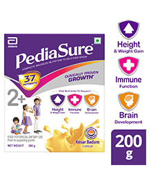 PediaSure Kesar Badam Refill Pack - 200 Gm - 200 Gm