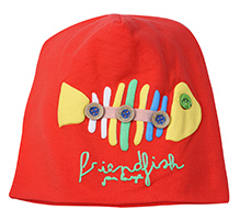 Babyhug Cap - Fish Patch