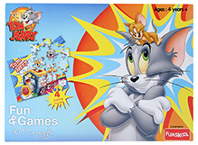 Funskool Tom And Jerry Fun And Games 4 In 1 Puzzle - 30 Pieces