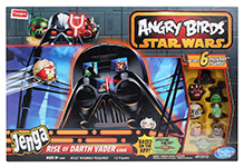 Funskool Angry Birds Swab Jenga Rise of Darth Vader Game