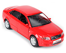 Welly Audi A4 Die Cast Car - Red