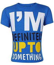 Babyhug Short Sleeve T-Shirt Printed