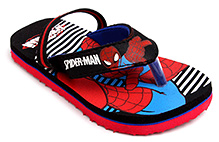 Spider Man Flip Flop With Back Strap - Printed