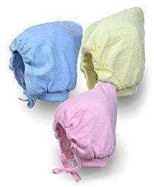 Tinycare Bonnet Style Cap Large - Set Of 3
