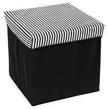 Fab N Funky Foldable Storage Box - Stripe Print