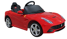 Rastar Battery Operated Ride On Ferrari F12 - Red