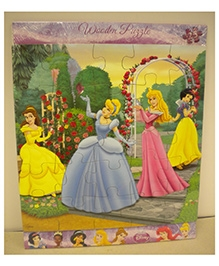 Cardinal Gates Disney Princess Wooden Puzzle - 25 Pieces