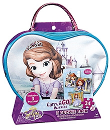 Cardinal Gates Carry And Go Sofia The First Puzzle - 24 Pieces