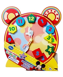 Cardinal Gates Disney Wood Clock Puzzles