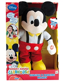 IMC Toys Singing And Dancing Mickey Soft Toy