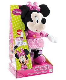 IMC Toys Happy Sounds Minnie Soft Toy