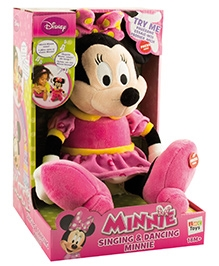 IMC Toys Singing Minnie Soft Toy - 18 Months+