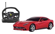 Rastar Remote Controlled Ferrari F12 With Steering Wheel Controller