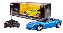 Rastar Remote Controlled Cherolet C6 GS