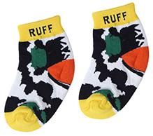 Ruff Ankle Length Socks - Printed