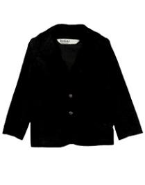 Beebay Corduroy Blazer Full Sleeve - Black