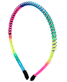 Stol'n Hair Band Multi Color Lace