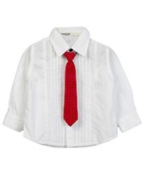 Beebay White Pintucks Shirt