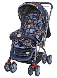Mee Mee Pram Teddy Bear MM22 - Dark Blue