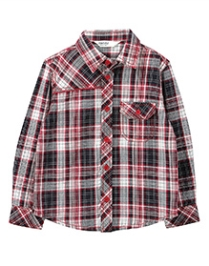 Beebay Yarn Dyed Check Shirt - Red