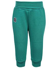 Little Kangaroos Full Length Pajama - Green