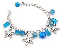 Stol'n Bracelet Blue - Beaded Charms