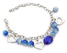 Stol'n Bracelet Blue - Beaded Charms