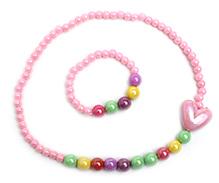 Stol'n Necklace And Bracelet - Pink