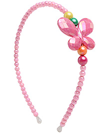 Stol'n Hair Band Multi Color Pearl - Butterfly