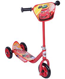 Disney Pixar Cars Three Wheel Scooter - Red