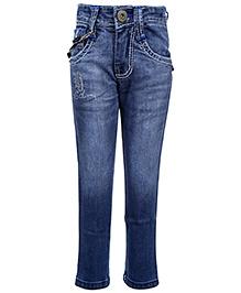 Hollywood Full Length Jeans - Light Blue