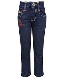 Hollywood Full Length Jeans - Dark Blue