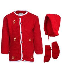 Babyhug Front Open Winter Wear Set