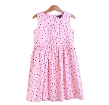 Bells and Whistles Mini Flower Print On Pink Base Dress