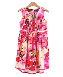 Bells and Whistles Water Color Printed Dress