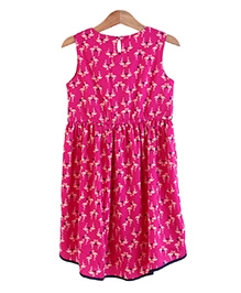 Bells and Whistles Pink Sleeveless Dress