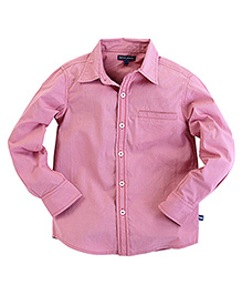 Bells and Whistles Mini Check Shirt  Red